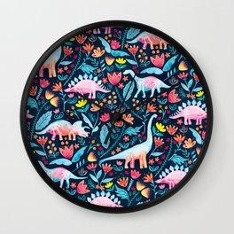 Dinosaur Delight Wall Clock