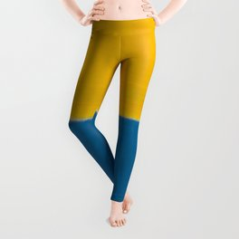 Untitled (Yellow and Blue) by Mark Rothko HD Leggings