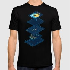 Blueprint Waka-Waka Mens Fitted Tee Black MEDIUM