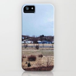 Somewhere in Iceland iPhone Case