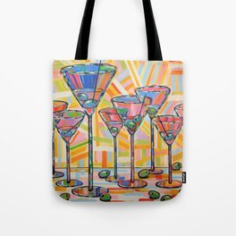 Martini Hour Tote Bag