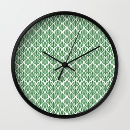 leaf Feuille 2 Wall Clock