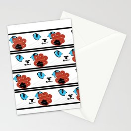 Karate Kat Stationery Cards