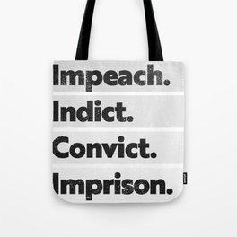 Trump Impeach, Anti Trump Protest Tote Bag