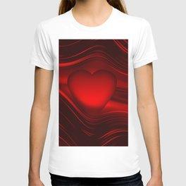 Red heart 16 T-shirt