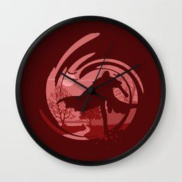 The Lord Vampire Wall Clock