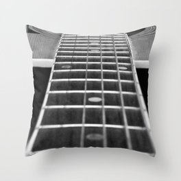 Guitar Gently Weeps Throw Pillow