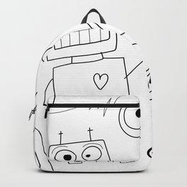 Three Cheers Robots Backpack