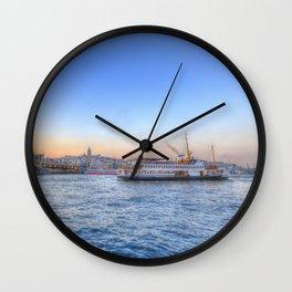 The Bosphorus Istanbul Wall Clock