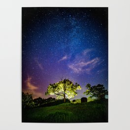 Galaxy Dreams of an Earthling Poster
