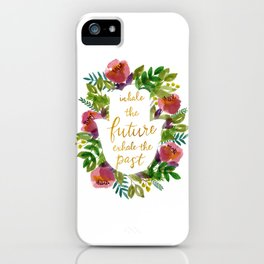 Inhale the Future iPhone Case