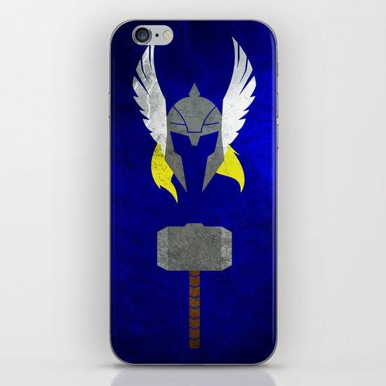 God of Thunder iPhone Skin