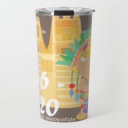 Moctezuma Xocoyotzin Travel Mug