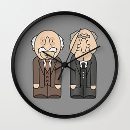 Statler & Waldorf – The Muppets Wall Clock