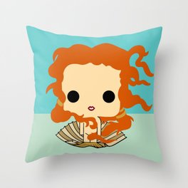 venus style Throw Pillow