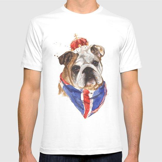 Thank you LONDON - British BULLDOG - Jubilee Art T-shirt