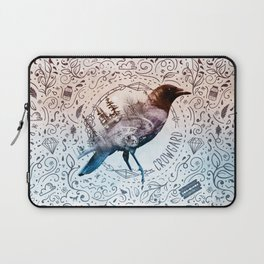 Crowgard (Terra Indigene) Laptop Sleeve