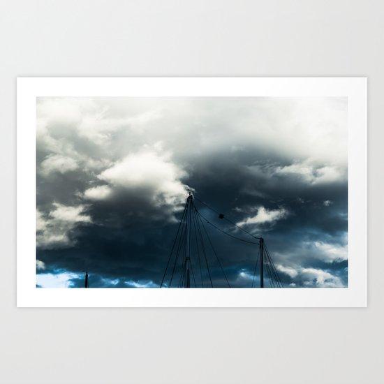 Stormcell Art Print