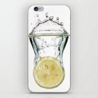 lemon iPhone & iPod Skins featuring Lemon by Massimo Merlini