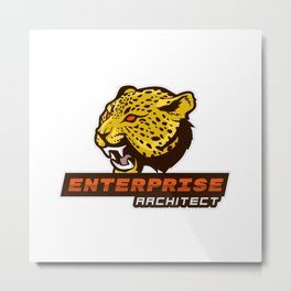 Clever Enterprise Architect Metal Print