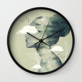 Geometric Wall Clock