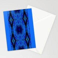 Blue Interface Stationery Cards