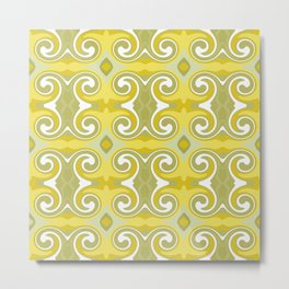 Marrakech Lemon Metal Print