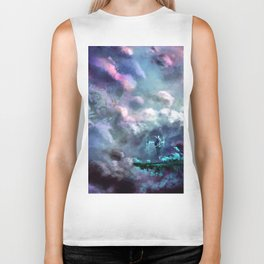 Water Temple in the Sky Biker Tank