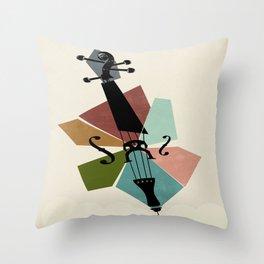 Bach - Cello Suites Throw Pillow