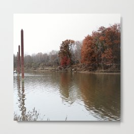 Complimenting nature Metal Print