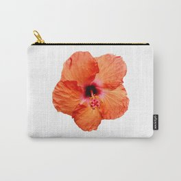 Just the Hibiscus Carry-All Pouch