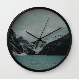 Spellbound - At Lake Louise Wall Clock