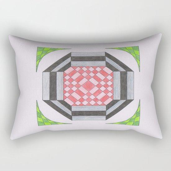 More haste less speed Rectangular Pillow