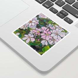 Blushing Blossoms Sticker