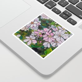 Blushing Blossoms Sticker