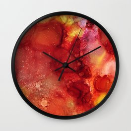 Rose Petals 2016 Wall Clock