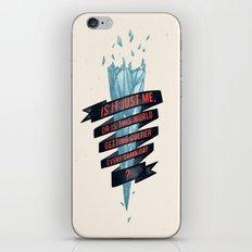 warming hoax iPhone & iPod Skin