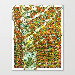 Autumn Aspen Canvas Print