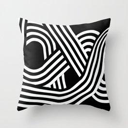 Linear_2 Throw Pillow