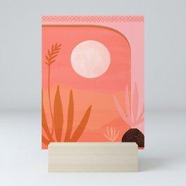 Desert Moonlight Mini Art Print