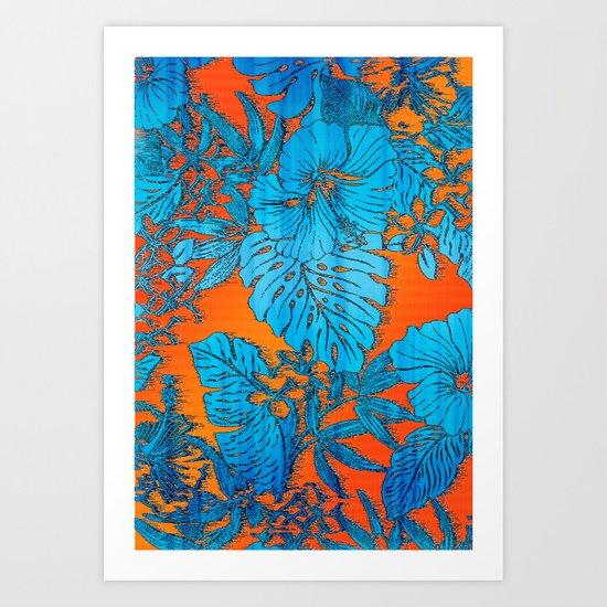 Tropical Soul Setting Art Print