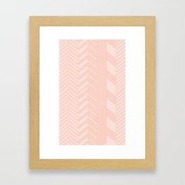 Arrow Lines Framed Art Print