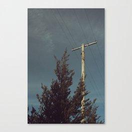 Telephone Line Canvas Print