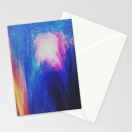 Melted galaxia Stationery Cards