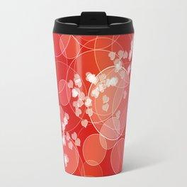 Love dreams. Bokeh texture Travel Mug