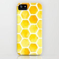Watercolour Honeycomb Slim Case iPhone (5, 5s)