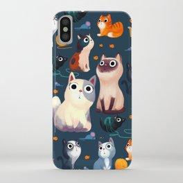 Cat Print iPhone Case
