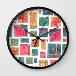 Christmas Presents! Wall Clock