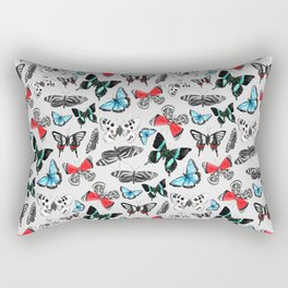 Float Like a Butterfly Rectangular Pillow