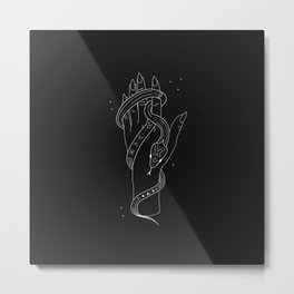 Life - Illustration Metal Print